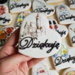 lukrowane ciasteczka dla nauczyciela historii, podziękowanie dla nauczyciela, Basia sweets