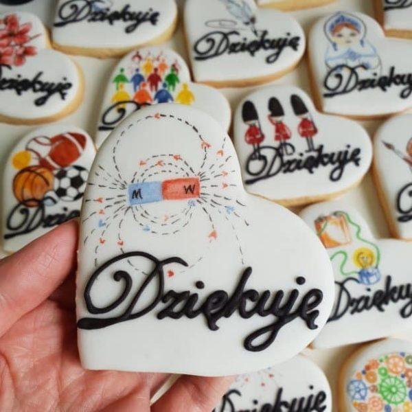lukrowane ciasteczka dla nauczyciela fizyki, fizyka, podziękowanie dla nauczyciela, Basia sweets