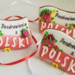 lukrowane ciasteczka na zamówienie, pierniczki Pozdrowienia z Polski - Basia sweets