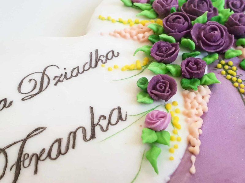 Lukrowane pierniki urodzinowe, pierniczki dla babci i dziadka, podziękowania dla gości - Basia sweets