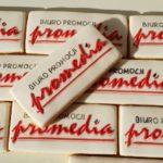 Lukrowane pierniczki z logo firmy, ciasteczka ciastka dla firm, Promedia - Basia sweets