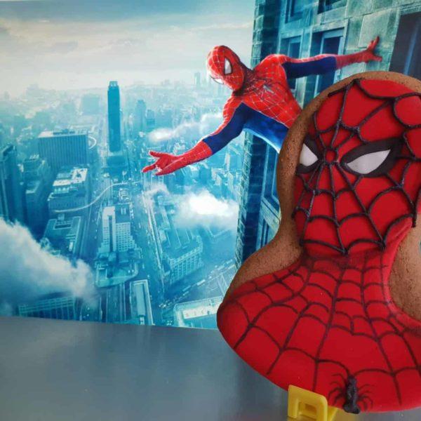 Lukrowane ciasteczka, Spiderman, lukrowane ciasteczka urodzinowe - Basia sweets