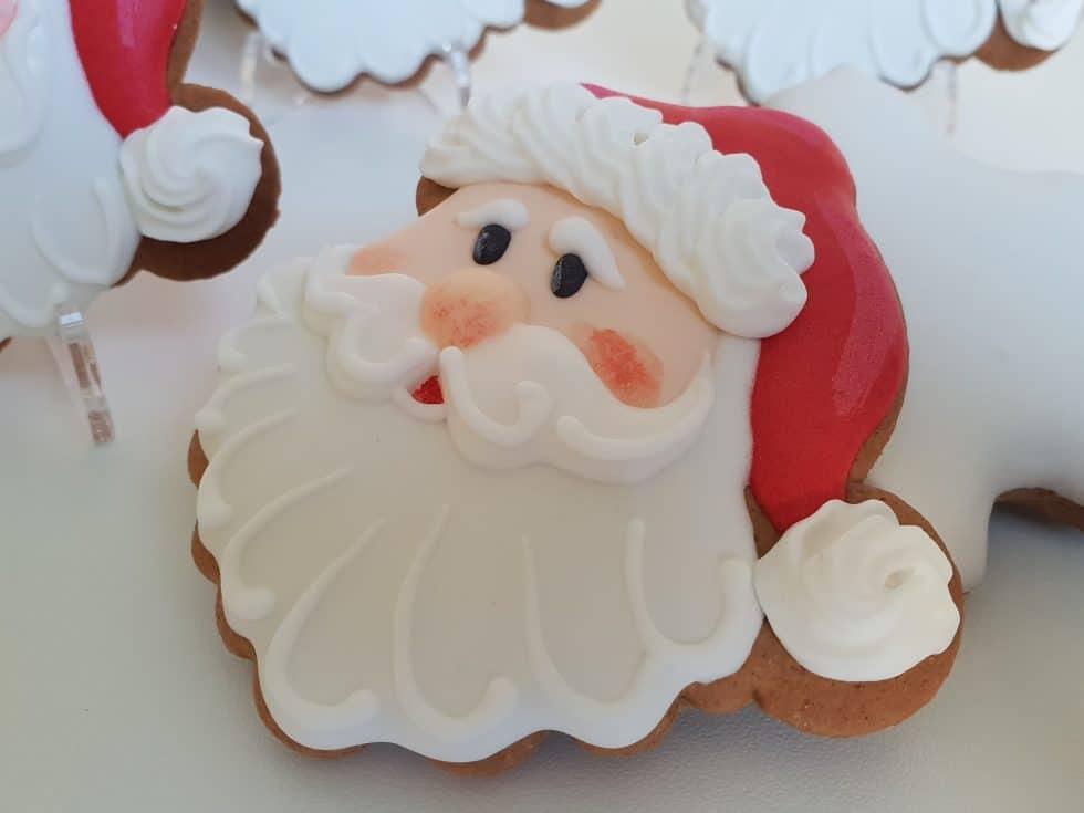 Świąteczne ciasteczka, Lukrowane pierniczki, pierniczki bożonarodzeniowe, Mikołaj, pierniki na zamówienie - Basia sweets
