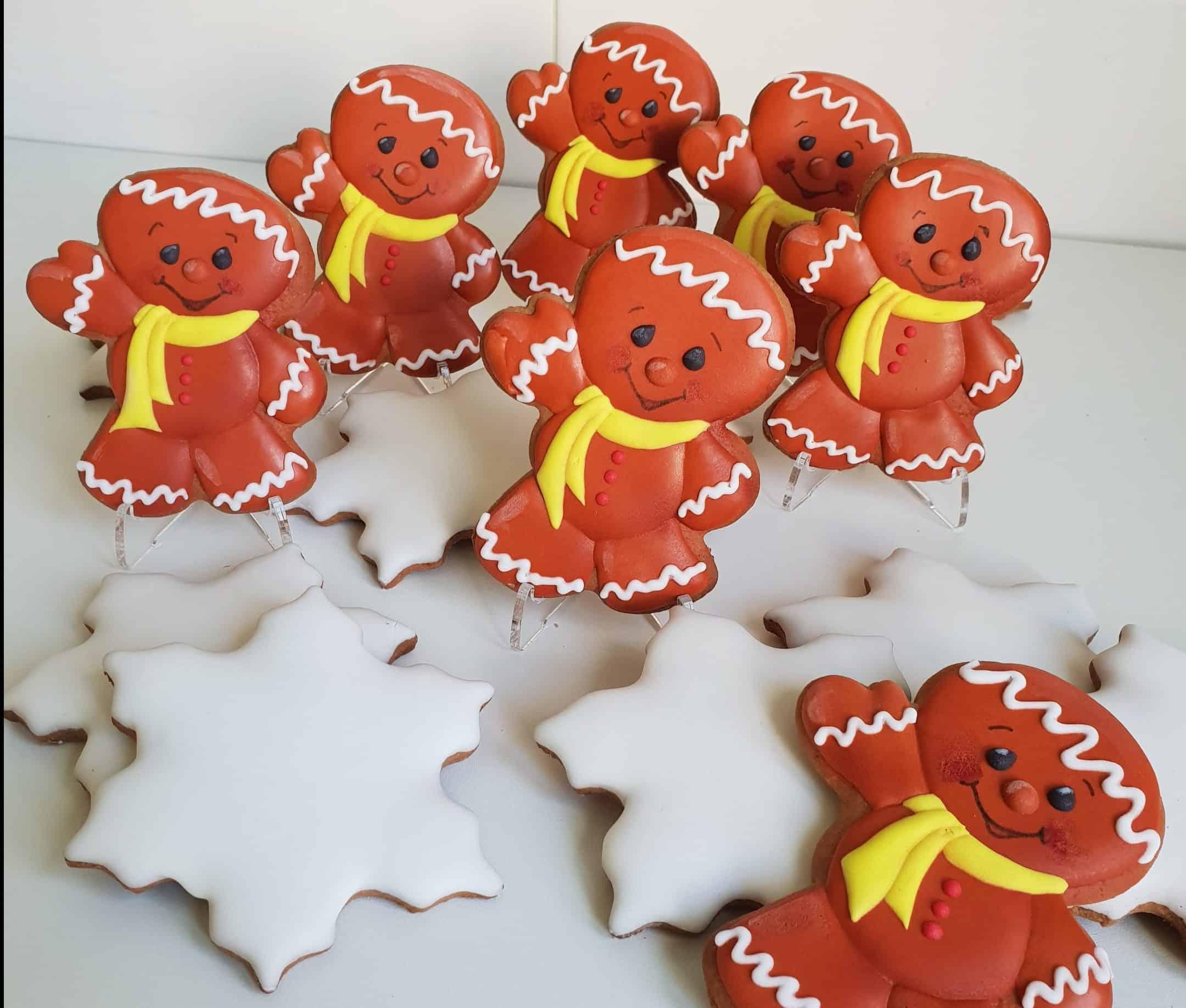 Lukrowane pierniczki, pierniczki bożonarodzeniowe, pan ciastko, pierniki na zamówienie - Basia sweets