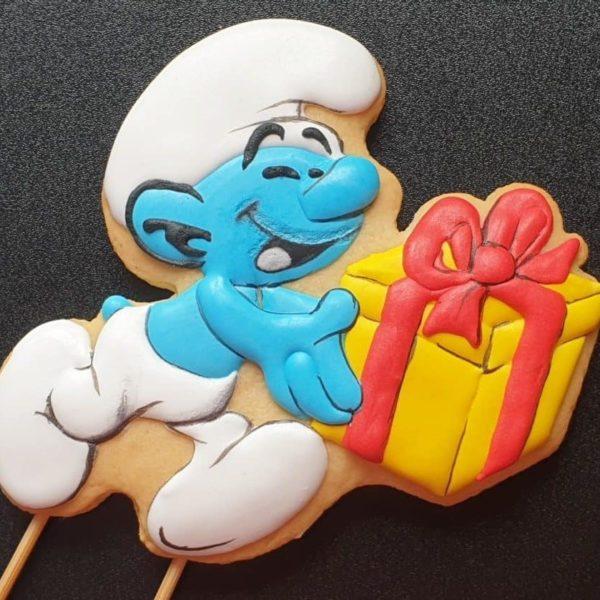 Lukrowane ciasteczka dla dzieci, upominki dla dzieci, ciasteczka urodzinowe, ciastka na zamówienie - Basia sweets