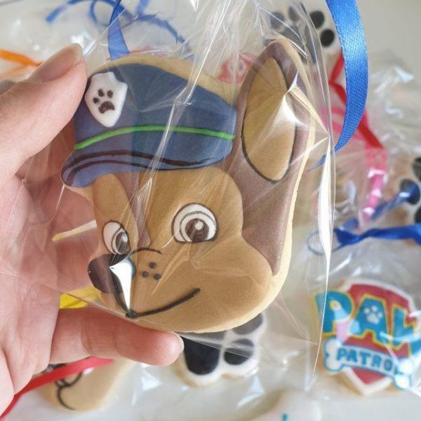 psi patrol ciasteczka, ciasteczka psi patrol - Lukrowane ciasteczka Basia sweets
