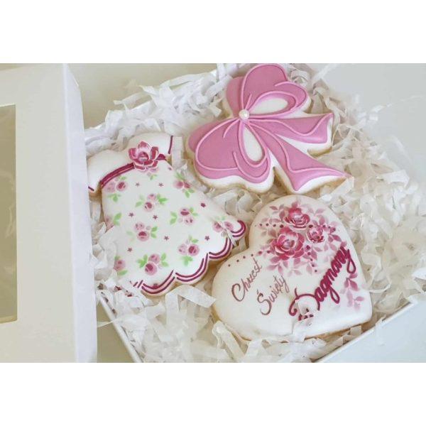 ciasteczka na chrzest, podziękowania dla gości na chrzest, podziękowania na chrzest, podziękowania chrzest, lukrowane ciasteczka Basia sweets