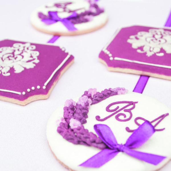 Ciasteczka ślubne, podziękowania ślubne, podziękowania ślubne dla gości, lukrowane ciasteczka na wesele Basia sweets