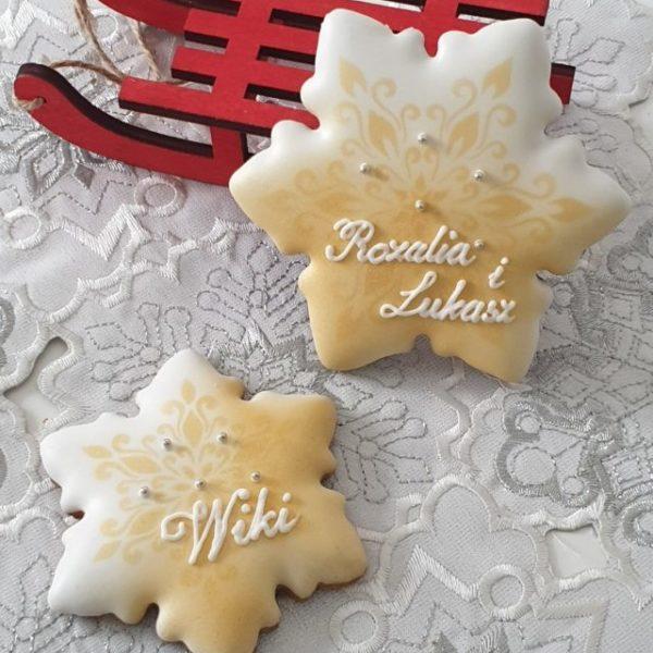 wigilia, winietki, pierniki bożonarodzeniowe, lukrowane pierniczki, pierniki reklamowe, świąteczne pierniki, pierniki ozdobne, pierniczki personalizowane - basia sweets