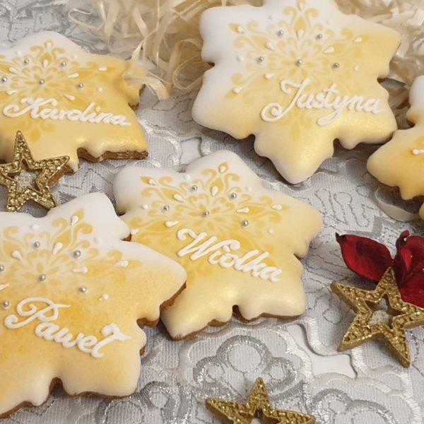 winietki na stół wigilijny, pierniki bożonarodzeniowe, lukrowane pierniczki, pierniki reklamowe, świąteczne pierniki, pierniki ozdobne, pierniczki personalizowane - basia sweets