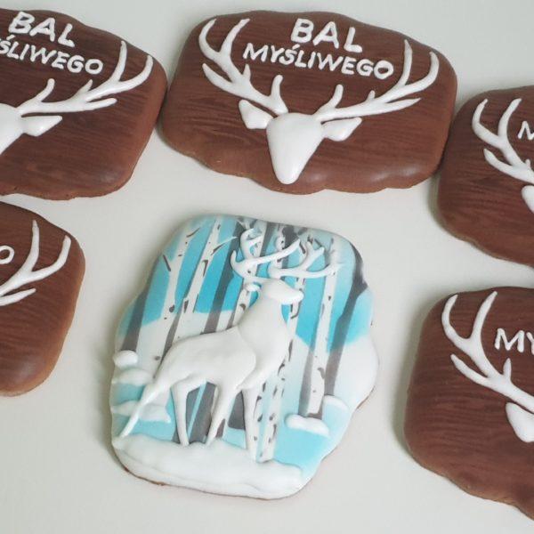 bal myśliwego, ciasteczka dla myśliwego, lukrowane ciasteczka Basia sweets