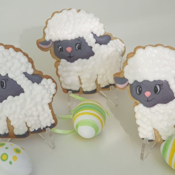 baranek wielkanocny, lukrowane ciasteczka Wielkanocne, ciastka wielkanocne Basia sweets