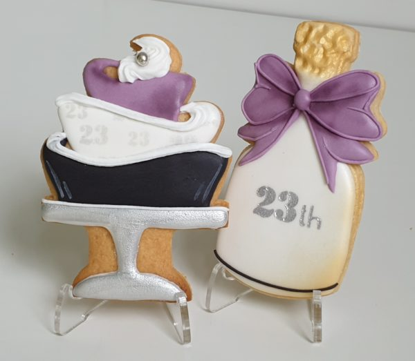 ciasteczka urodzinowe, ciastka na urodziny, lukrowane ciasteczka - Basia sweets