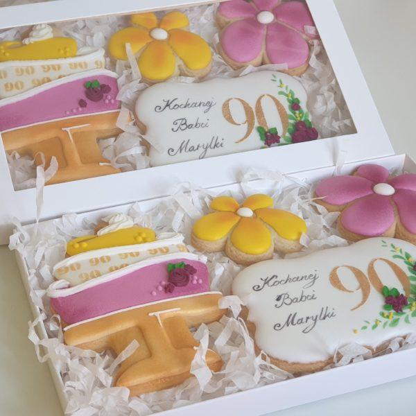 Zestaw pierników, podziękowania, lukrowane pierniki tematyczne, pierniki reklamowe, personalizowane pierniki - Basia sweets