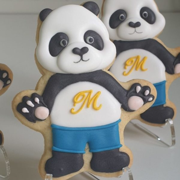 ciasteczka urodzinowe misie, ciasteczka na urodziny, urodziny podziękowania - Basia sweets