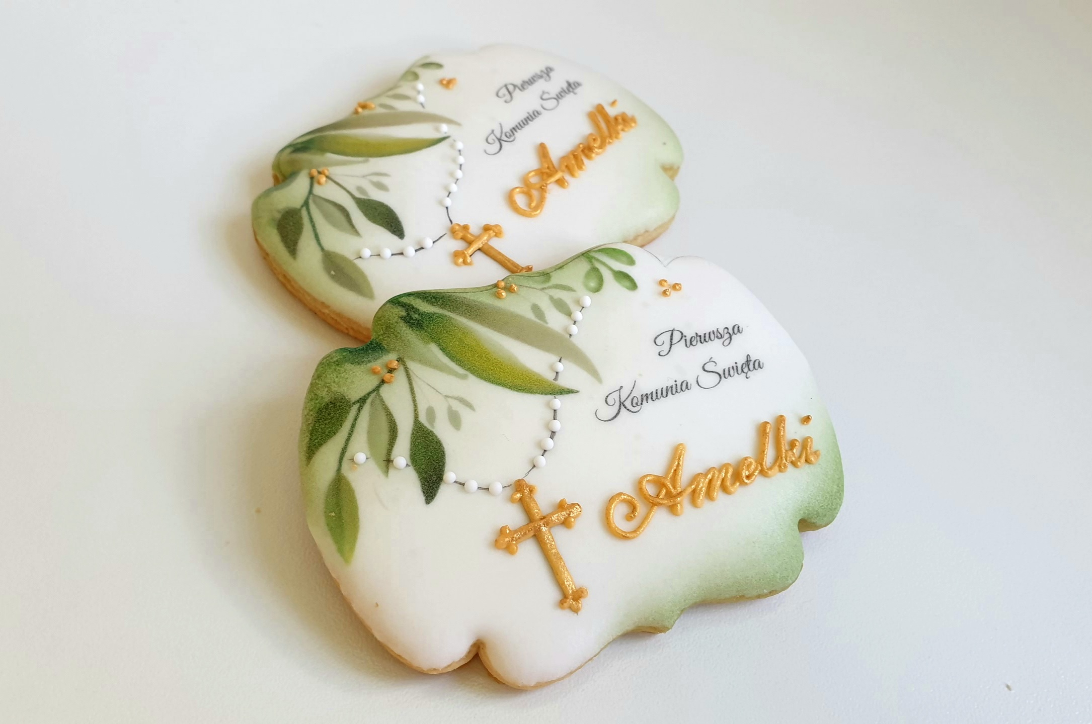 Podziękowania dla gości lukrowane ciasteczka, Pierniczki komunijne, podziękowania dla gości, podziękowania komunia, pierniki na komunię, ciasteczka komunijne, ciastka komunijne, podziękowania dla gości komunia, lukrowane ciasteczka - Basia sweets